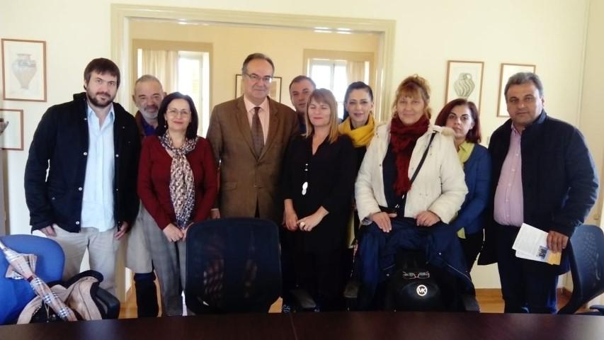 Β. Κοσμόπουλος: Επίσκεψη στην Εφορία Αρχαιοτήτων Μεσσηνίας 10