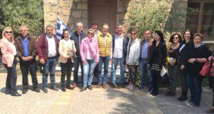 Β. Κοσμόπουλος: Συνάντηση με τους υποψήφιους στη Μικρά Μαντίνεια
