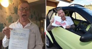 Άντρας πήρε τελικά δίπλωμα οδήγησης μετά από 33 απόπειρες, 14 δασκάλους και 25 χρόνια μαθήματα