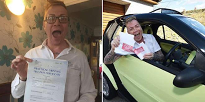 Άντρας πήρε τελικά δίπλωμα οδήγησης μετά από 33 απόπειρες, 14 δασκάλους και 25 χρόνια μαθήματα 1