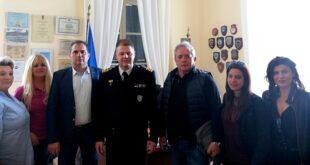 Θανάσης Βασιλόπουλος: επίσκεψη σε Λιμεναρχείο και Νοσοκομείο Καλαμάτας