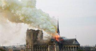 Παρίσι: Στις φλόγες η Παναγία των Παρισίων ‑ Κατέρρευσε η οροφή