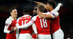 "Europa League: Η Άρσεναλ ""πάτησε"" τη Νάπολι. Προβάδισμα για Μπενφίκα, Τσέλσι και Βαλένθια"