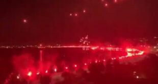 """ΠΑΟΚ: """"Κάηκε"""" η Θεσσαλονίκη για το πρωτάθλημα του """"δικέφαλου του Βορρά"""""""