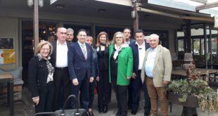 Την Καλαμάτα επισκέφτηκε η υπ. Ευρωβουλευτής της Νέας Δημοκρατίας κ. Αδροδίτη Μπλέτα.