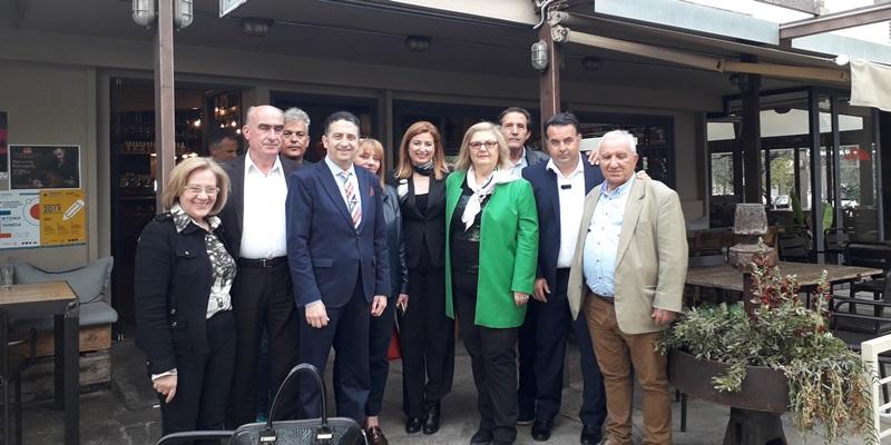 Την Καλαμάτα επισκέφτηκε η υπ. Ευρωβουλευτής της Νέας Δημοκρατίας κ. Αδροδίτη Μπλέτα. 38
