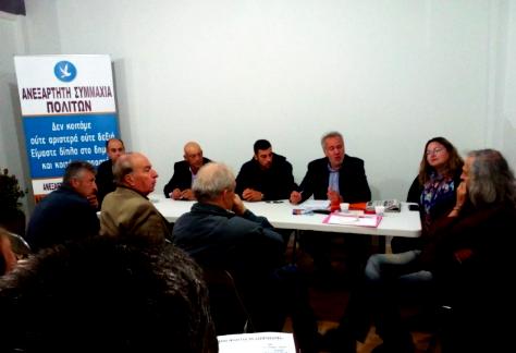 Μιχάλης Αντωνόπουλος: Συναντήσεις με υποψηφίους ανεξάρτητων συνδυασμών 4