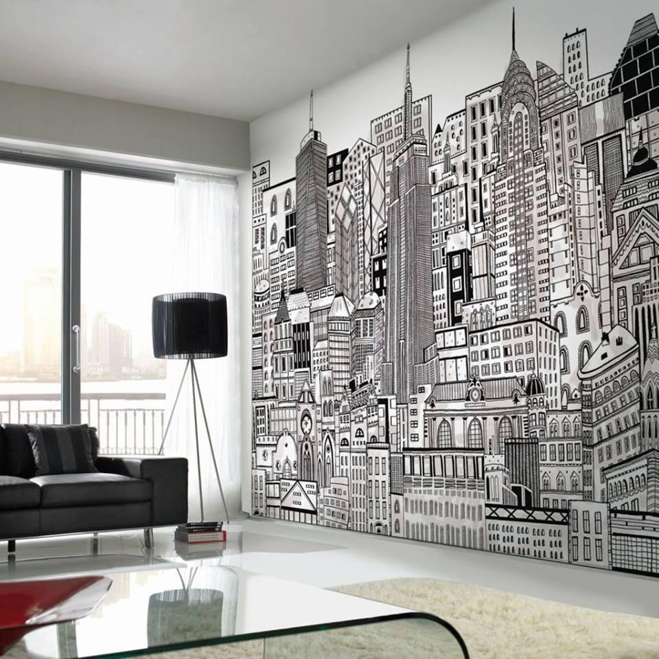 """Δημιουργήστε ένα """"εντυπωσιακό"""" δωμάτιο με φωτοταπετσαρίες"""