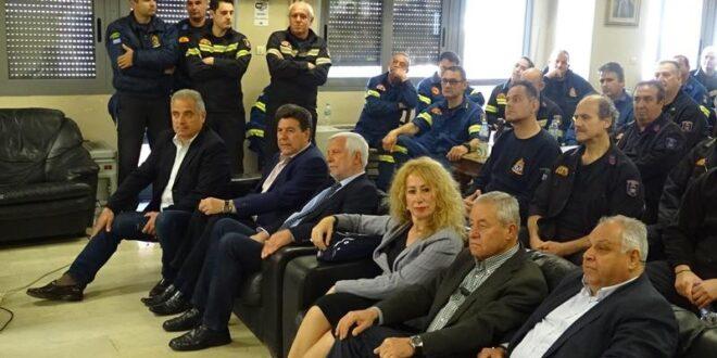 Πέτρος Τατούλης: Βρισκόμαστε έμπρακτα στο πλευρό της Πυροσβεστικής