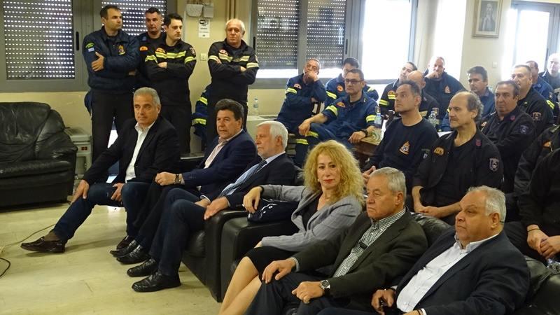 Πέτρος Τατούλης: Βρισκόμαστε έμπρακτα στο πλευρό της Πυροσβεστικής 8