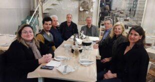 Ο Μιχάλης Αντωνόπουλος επισκέφθηκε τη Δημοτική Ενότητα Αριος