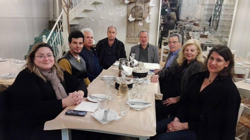 Ο Μιχάλης Αντωνόπουλος επισκέφθηκε τη Δημοτική Ενότητα Αριος 12