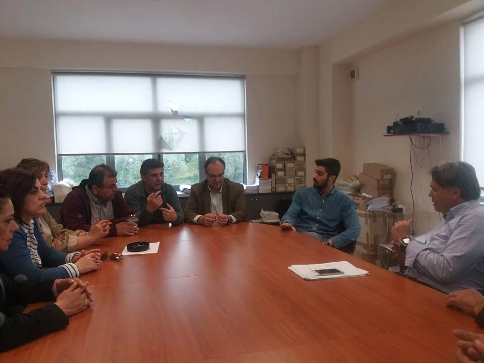 Ο Βασίλης Κοσμόπουλος επισκέφθηκε ΔΕΥΑΚ, συνεργεία του Δήμου και Υπεραστικό ΚΤΕΛ 2