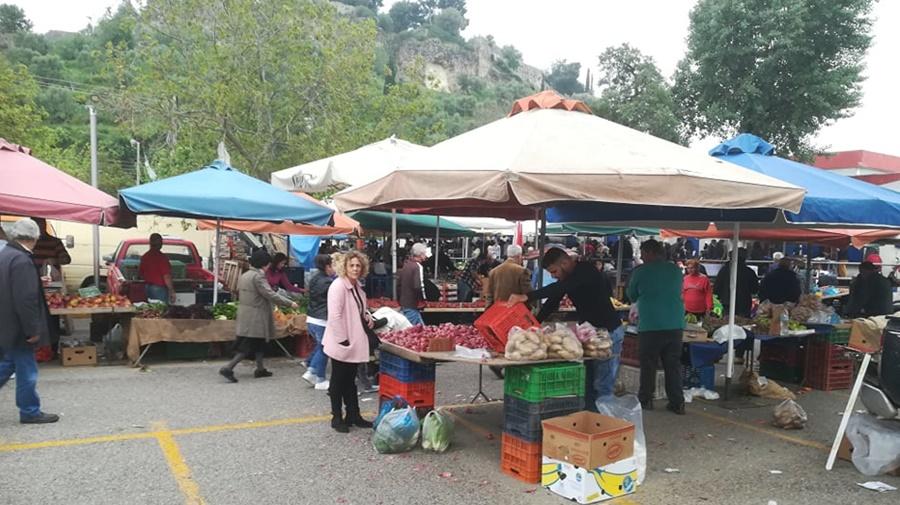 Μέτρια η κίνηση στην αγορά της Καλαμάτας ενόψει Πάσχα 9