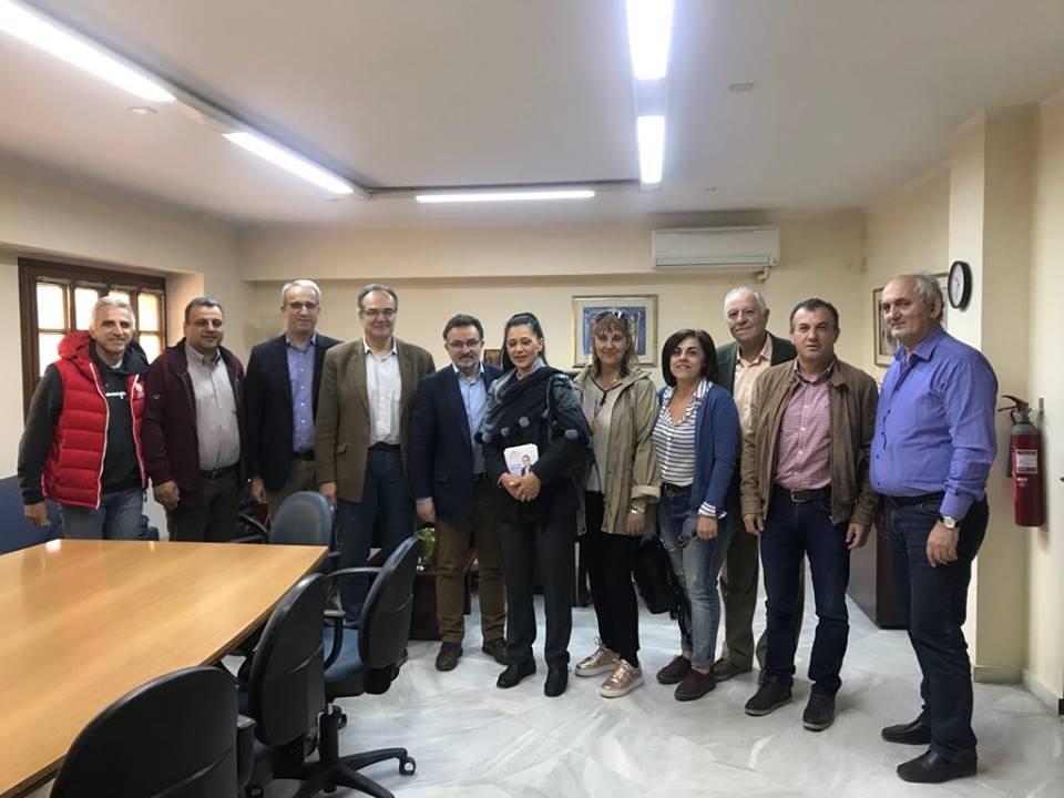 Ο Βασίλης Κοσμόπουλος επισκέφθηκε ΔΕΥΑΚ, συνεργεία του Δήμου και Υπεραστικό ΚΤΕΛ 3