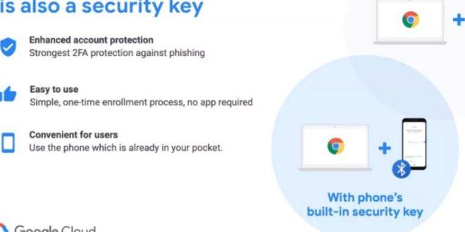 Πλέον μπορείς να χρησιμοποιείς το Android smartphone σου ως security key