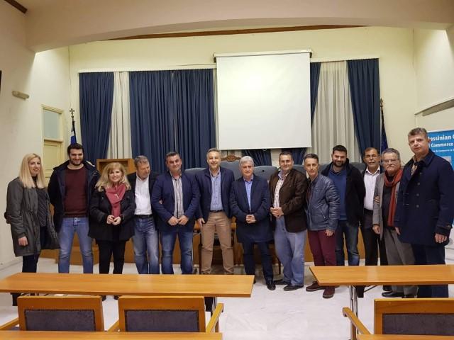 Β. Τζαμουράνης: Ενίσχυση της εξωστρέφειας σε συνεργασία με το Επιμελητήριο 45