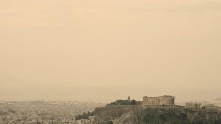 """Η αφρικανική σκόνη """"σκεπάζει"""" τη χώρα - Πού θα ρίξει λασποβροχή 1"""