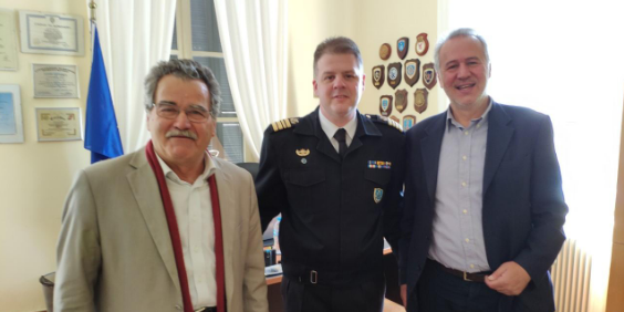 Ο Μιχάλης Αντωνόπουλος επισκέφτηκε το Αρχηγείο του Λιμενικού Σώματος Καλαμάτας 27