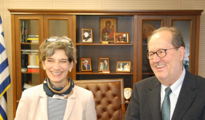 Επίσκεψη της Πρέσβειρας της Μεγάλης Βρετανίας στο Δημαρχείο 1