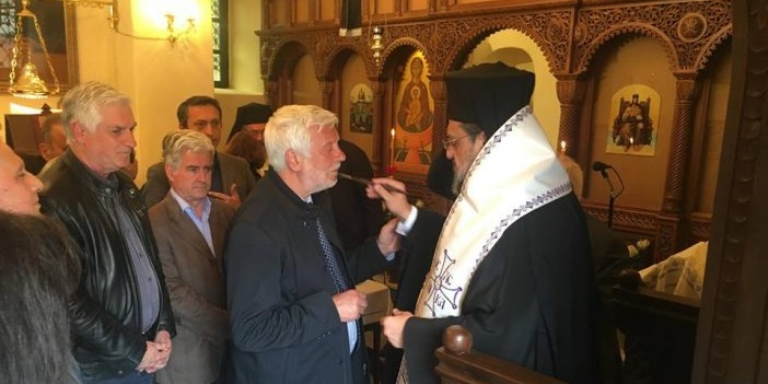 Στην Ιερά Μονή Βελανιδιάς και στα Φιλιατρά ο Πέτρος Τατούλης 1
