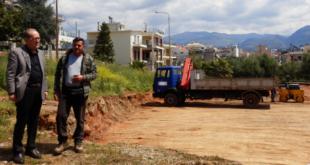Συνεχίζονται οι εργασίες για αθλητικό κέντρο στο Φραγκοπήγαδο