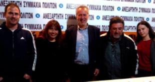 Μιχάλης Αντωνόπουλος: Συναντήσεις με υποψηφίους ανεξάρτητων συνδυασμών