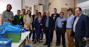 Βασίλης Τζαμουράνης: Επίσκεψη στις εγκαταστάσεις του Συνεταιρισμού Φαρμακοποιών Νότιας Πελοποννήσου (ΣΥΦΑΝΟΠ Π.Ε.