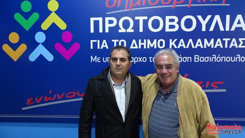 Με τους συνυποψήφιους του γιόρτασε ο Γιάννης Μπάκας τα γενέθλια του
