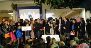 Αισιόδοξος για την Νίκη εμφανίστηκε ο Παν. Νίκας στα εγκαίνια του εκλογικού κέντρου στην Καλαμάτα