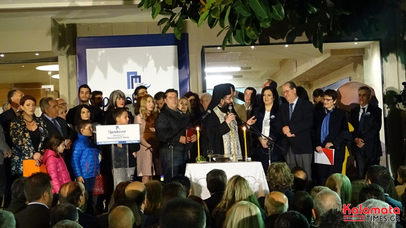 Αισιόδοξος για την Νίκη εμφανίστηκε ο Παν. Νίκας στα εγκαίνια του εκλογικού κέντρου στην Καλαμάτα 1