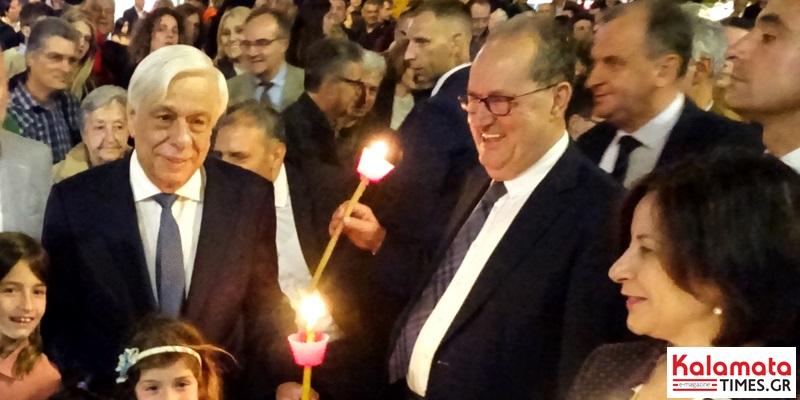 Μήνυμα ενότητας από τον Προκόπη Παυλόπουλο στην Καλαμάτα 6