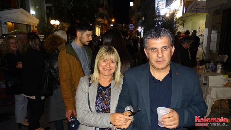 Βασίλης Κοσμόπουλος: Κοσμοσυρροή στα εγκαίνια του εκλογικού κέντρου 9