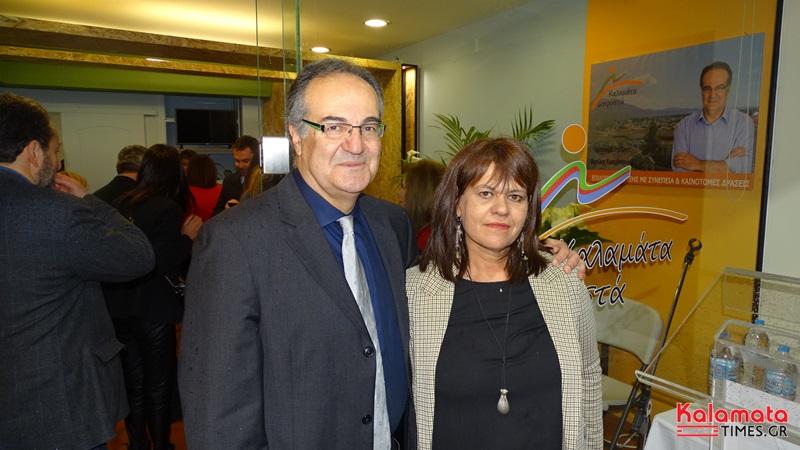 Βασίλης Κοσμόπουλος: Κοσμοσυρροή στα εγκαίνια του εκλογικού κέντρου 11