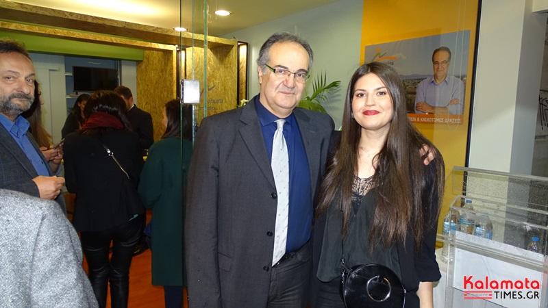 Βασίλης Κοσμόπουλος: Κοσμοσυρροή στα εγκαίνια του εκλογικού κέντρου 12