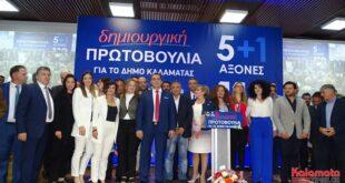 Οι 59 υποψήφιοι του Συνδυασμού «Δημιουργική πρωτοβουλία για το Δήμο Καλαμάτας»
