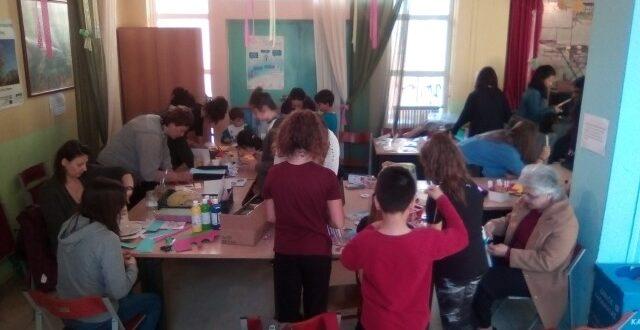 Εργαστήριο βιωματικών Πασχαλινών κατασκευών στο 13ο δημοτικό σχολείο Καλαμάτας