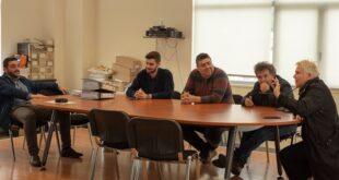 Επίσκεψη στο ΚΤΕΛ Ν. Μεσσηνίας η Μαρία Οικονομάκου και μέλη του «Καλαμάτα Ξεκινάμε».