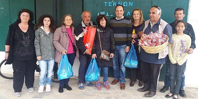 Στήριξη 35 οικογενειών για την κάλυψη αναγκών από το Σύλλογο Τριτέκνων Μεσσηνίας
