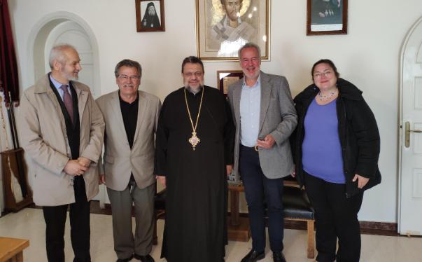 Μ. Αντωνόπουλος: Προτάθηκε η  ίδρυση νέου κοιμητηριού στον Μητροπολίτη Μεσσηνίας κ. Χρυσόστομο 2