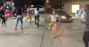 Δείτε τί έγινε όταν 5 γυναίκες προσπάθησαν να κλέψουν ένα βενζινάδικο