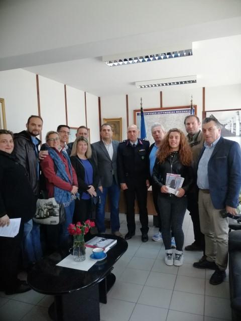 Στην Αστυνομική Διεύθυνση Μεσσηνίας ο συνδυασμός «Δημιουργική Πρωτοβουλία για το Δήμο Καλαμάτας»