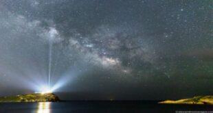 Η εκθαμβωτική φωτογραφία της nasa που ο ναός του Σουνίου «φωτίζει» όλο τον Γαλαξία