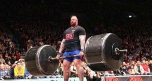 Το «Βουνό» του Game Of Thrones σηκώνει για πλάκα 350 κιλά με deadlifts