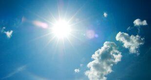 Ηλιοφάνεια στο μεγαλύτερο μέρος της χώρας με τοπικές μόνο νεφώσεις και πιθανότητα τοπικών βροχών