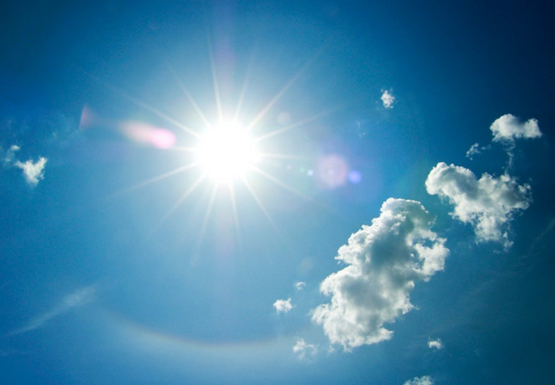 Ηλιοφάνεια στο μεγαλύτερο μέρος της χώρας με τοπικές μόνο νεφώσεις και πιθανότητα τοπικών βροχών 1