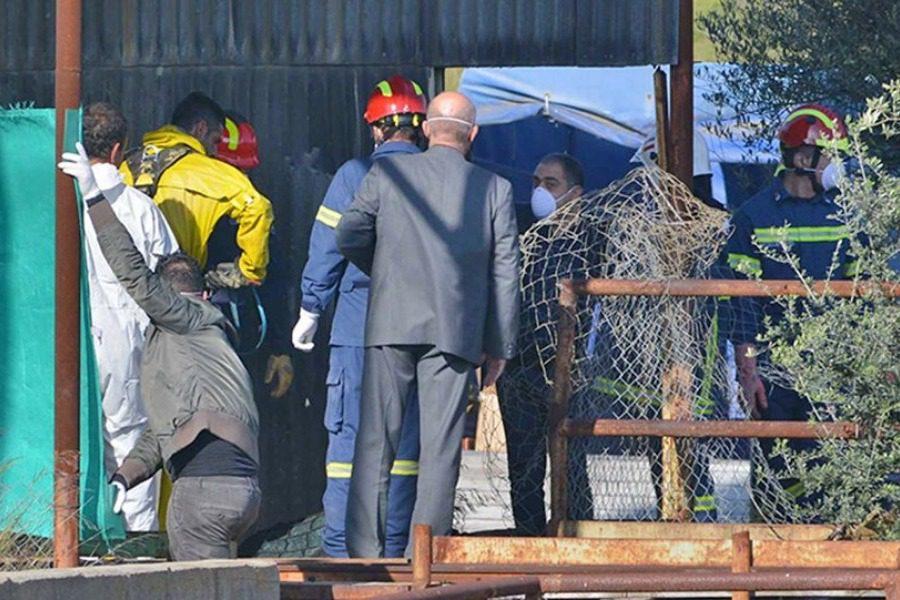 Και άλλα πτώματα στο πηγάδι του μεταλλείου στην Κύπρο 12