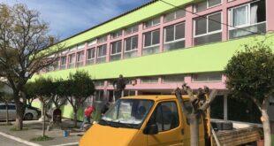 Επισκευές και χρωματισμοί σε σχολεία του Δήμου Καλαμάτας