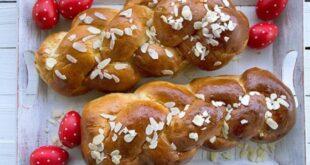 Τι συμβολίζουν τα κόκκινα αυγά, το τσουρέκι και ο οβελίας;