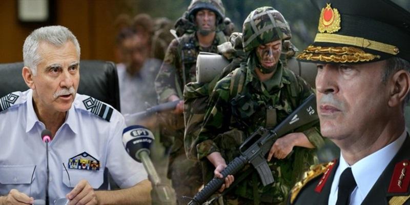 Aρχηγός ΓΕΕΘΑ για τις δηλώσεις Ακάρ: «Αν θέλεις ειρήνη προετοιμάσου για πόλεμο» 4